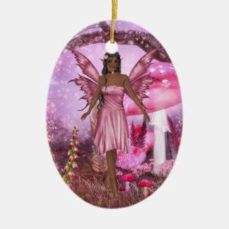 Pink Fairy Garden Ornament