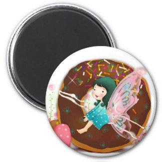 Pink Fairy Girl Magnet