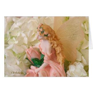 Pink fairy landscape II Card