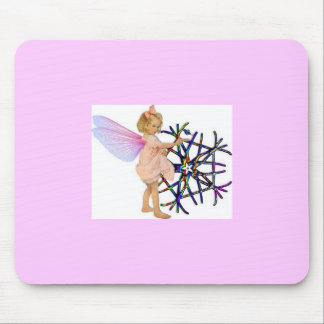 Pink Fairy Mouse Mat