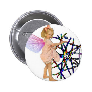 Pink Fairy Pin