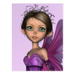 Pink Fairy Post Card
