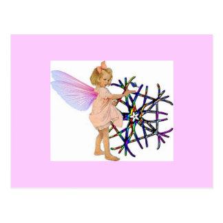 Pink Fairy Postcards