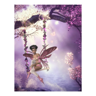 Pink Fairy Swing Flyer