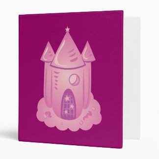 Pink Fairytale Castle Binder
