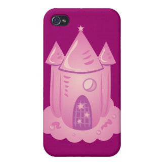 Pink Fairytale Castle Cases For iPhone 4