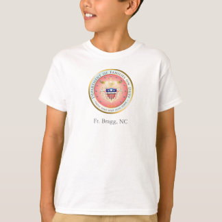 Pink Families on Duty Seal T-Shirt