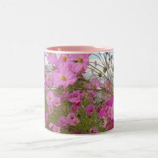 Pink Fancy 1 Two-Tone Coffee Mug