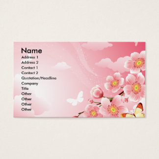 PINK FANTASY BUSINESS CARD