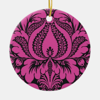 Pink Fantasy Floral Ornament