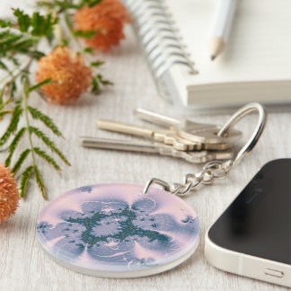 Pink Fantasy Keychain