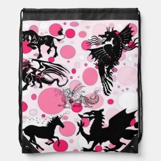 Pink Fantasy Backpacks