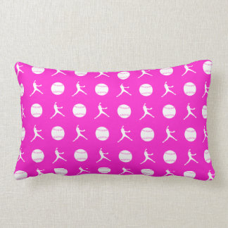 Pink Fastpitch Pillow