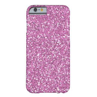 Pink Faux Glitter iPhone 6 case