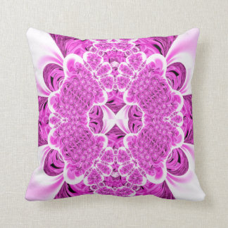 Pink Faux Smocked Satin American MoJo Pillow