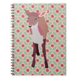 Pink Fawn Notebook