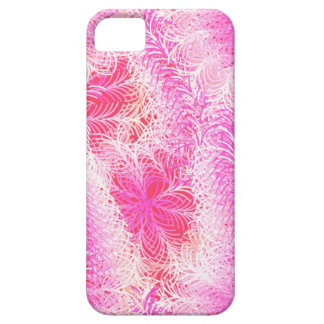 Pink feather boa iPhone SE/5/5s case
