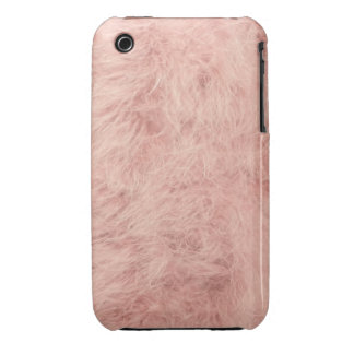 Pink feather iPhone 3 case