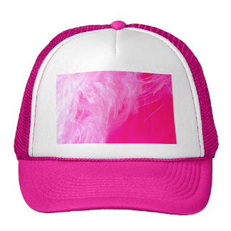 Pink Feather Hats