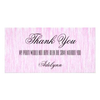 Pink Fiber Card