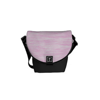 Pink-Fiber Messenger Bag
