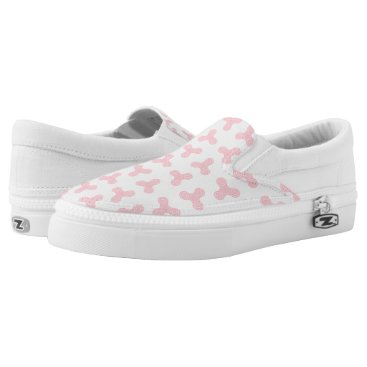Beach Themed Pink Fidget Spinners Design Slip On Shoes