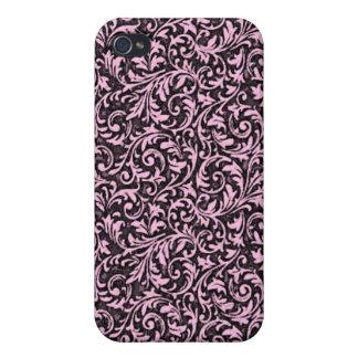 Pink Filigree iPhone4 Case iPhone 4 Cases