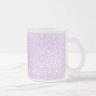 Pink Filigree Lace Mug