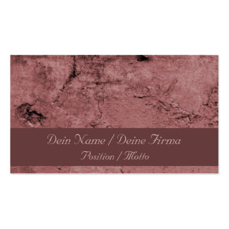 Pink finery business cards
