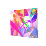 Pink Fire Gallery Wrapped Canvas