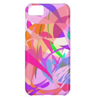 Pink Fire iPhone 5C Cover
