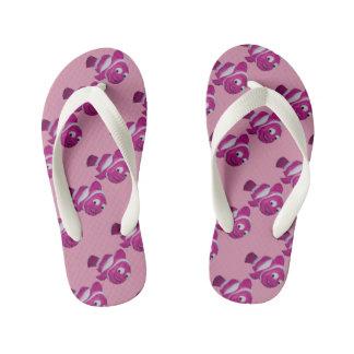 Pink Fish Kid's Flip Flops
