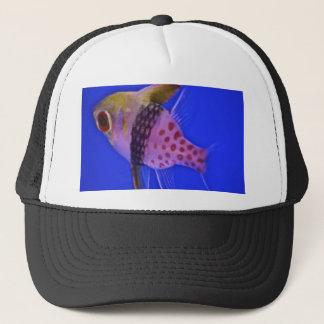 Pink Fish Trucker Hat