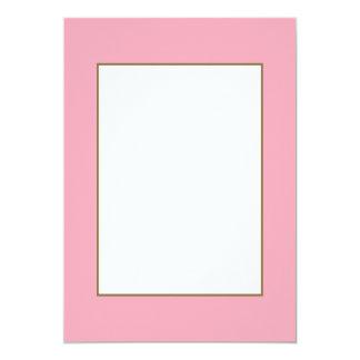 Pink Fizz Candy Bubblegum Uptown Girl Design Pink Card