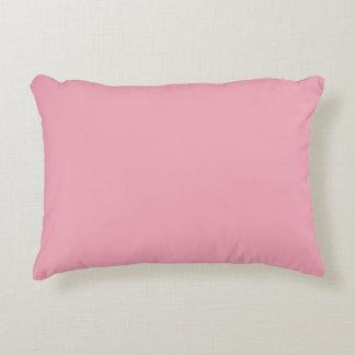 Pink Fizz Candy Bubblegum Uptown Girl Design Pink Decorative Pillow