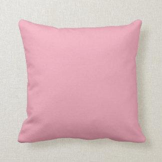 Pink Fizz Candy Bubblegum Uptown Girl Design Pink Throw Pillow