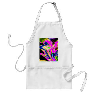 Pink Flair Waves : Happiness, Healing n Smiles Apron