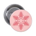 Pink Flake 7 Pinback Button