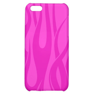 Pink-flame Case For iPhone 5C