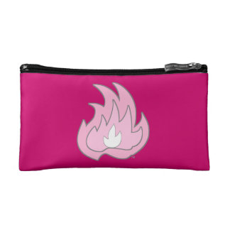 Pink Flame Gurl Flame Makeup Bag
