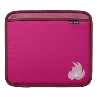 Pink Flame Gurl Flame Sleeve For iPads