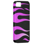 Pink Flames Black Case-Mate ID iPhone 5 Case