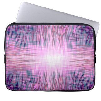 Pink Flames Laptop Sleeves