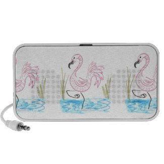 Pink Flamingo #13 by EelKat Wendy C Allen Speaker