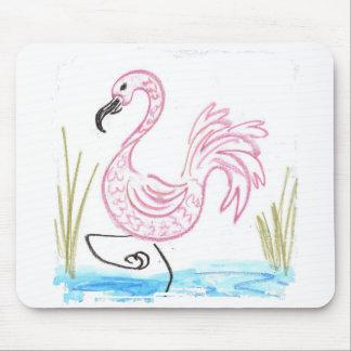 Pink Flamingo #13 Mouse Pad