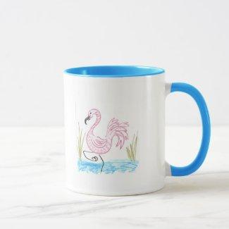 Pink Flamingo #13 Mug