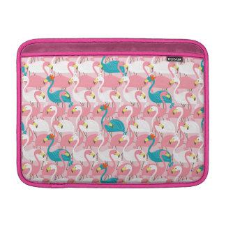 """Pink Flamingo 13"""" Sleeves For MacBook Air"""