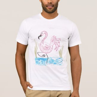 Pink Flamingo #13 T-Shirt