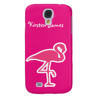 Pink Flamingo 3G/3GS Galaxy S4 Cover