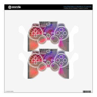 Pink Flamingo Art PS3 Controller Skins